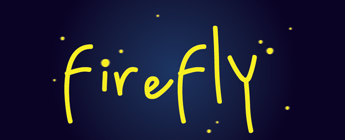 Firefly is a tagging game that explores temporal memory, and exploits the balance of collaboration and competition.